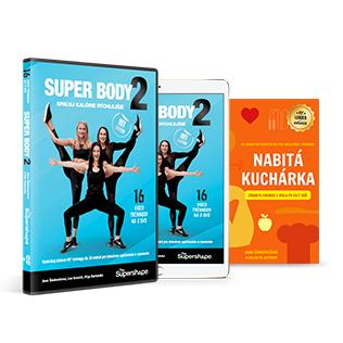 ON-LINE video program + DVD set + Kniha NABITÁ KUCHÁRKA