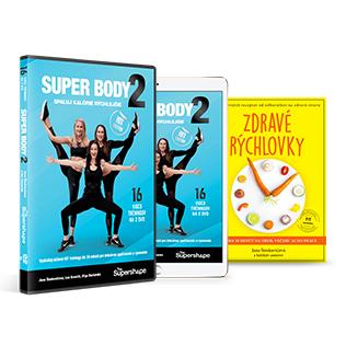 ON-LINE video program + DVD set + Kniha ZDRAVÉ RÝCHLOVKY